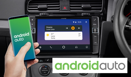 "Details about Alpine 9"" Mobile Media System for VWGolf 7 Apple CarPlay  Android Auto DAB/DAB+"