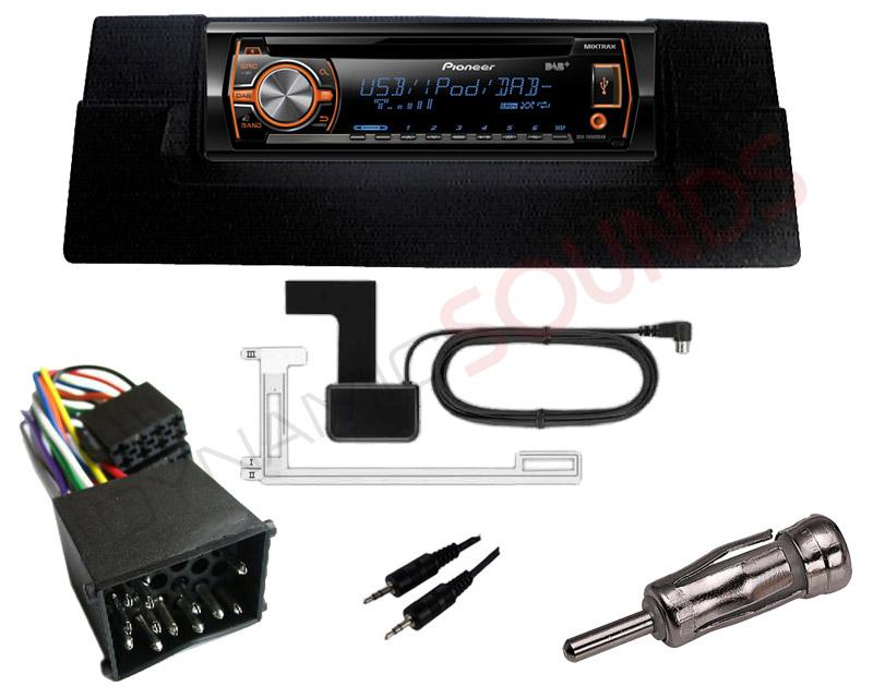ford focus fitting kit pioneer deh x6500dab digital radio car cd mp3 apps directories