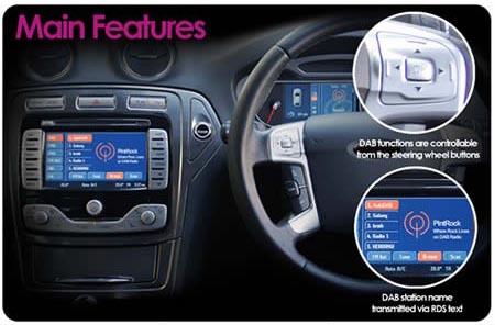 autodab digital dab car radio interface adaptor for. Black Bedroom Furniture Sets. Home Design Ideas