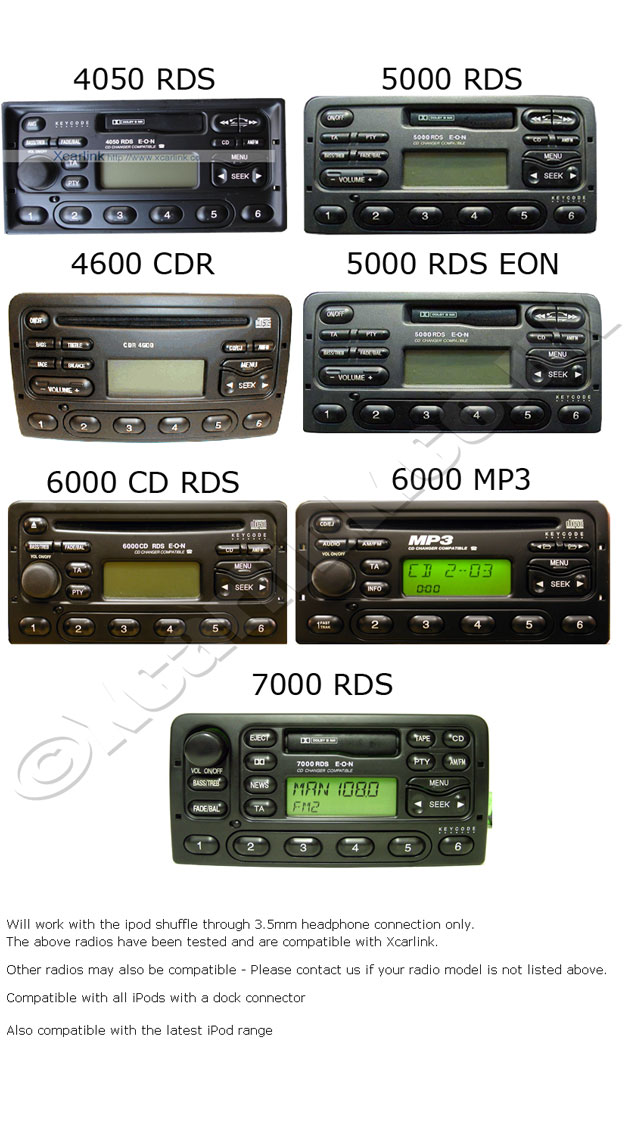 Ford Factory Radios